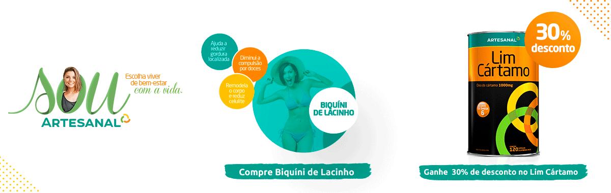 Biquíni de Lacinho + Lim Cártamo